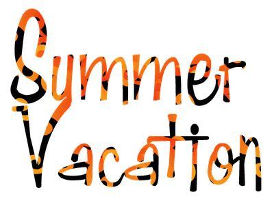 An essay on summer vacation